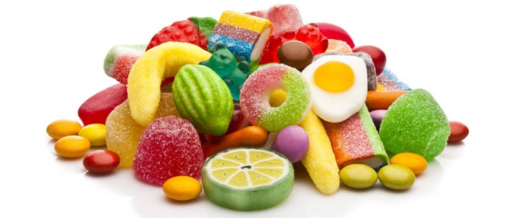 cuidado bucal evitar las chuches y dulces