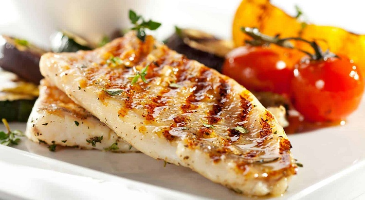 cena ligera y saludable, pescado a la plancha