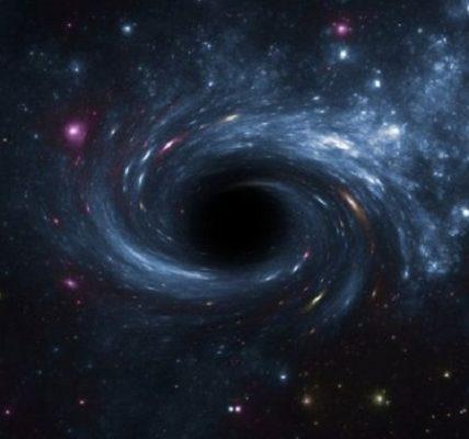 El gran agujero negro que hábita en el centro de la Vía Láctea