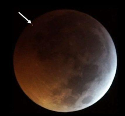 Un meteorito impactó la luna durante el último eclipse lunar