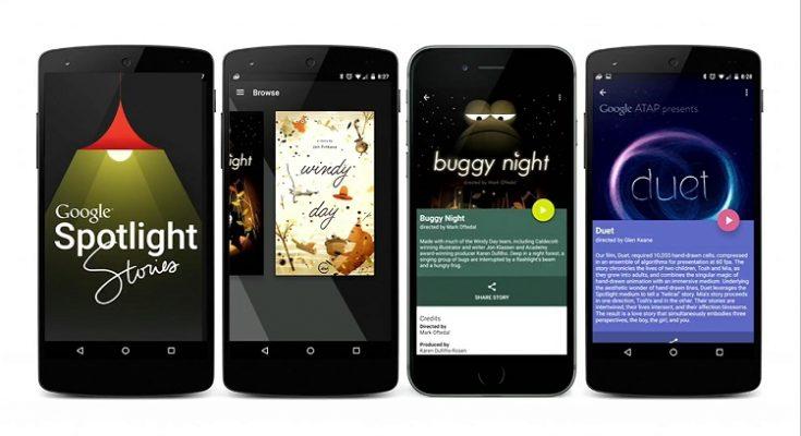 Google cierra su plataforma de vídeos Spotlight Stories
